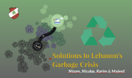 Solutions to Lebanon's Garbage Crisis