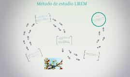 Metodo de estudio LIREM
