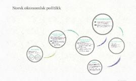 Norsk økonomisk politikk