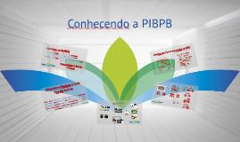 Conhecendo a PIBPB
