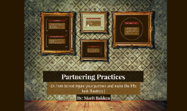 Partnering Practices