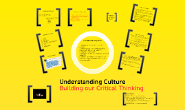 Culture and Critical Thinking