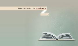 PROCESO DE PAZ EN GUATEMALA.