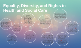Equality, Diversity, and Rights in Health and Social Care