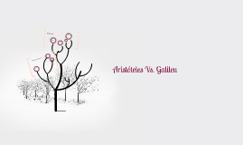 Aristóteles Vs. Galileu