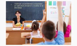 Copy of Construir comprensiones compartidas en contextos escolares: EL DESAFÍO DE LA DIVERSIDAD