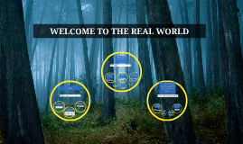Copy of WELCOME TO THE REAL WORLD