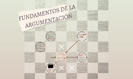FUNDAMENTOS DE LA ARGUMENTACIÓN