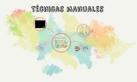 Técnicas manuales -talleres y manualidades