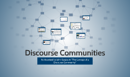 FA16 Discourse Communities