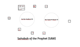 Sahabah of the Prophet
