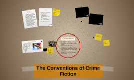 The Conventions of Crime Fiction