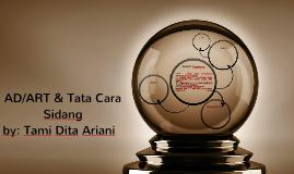 AD/ART & Tata Cara Sidang