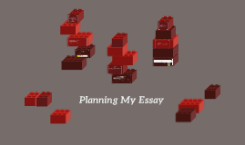 planning my essay