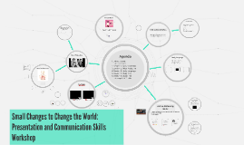 Small Changes to Change the World: Presentation Skills