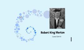 Roberto King Merton