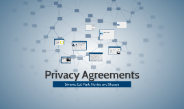 Privacy Agreements