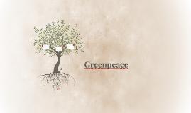 Les activités de Greenpeace concernant la protection de l'en