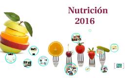 NUTRICION JULIO 2016