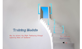 VOC capturing and analysis Training module
