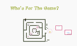 Copy of Who's For The Game?