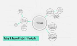 Copy of Typhus
