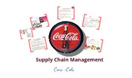 Coca Cola SCM Prezi