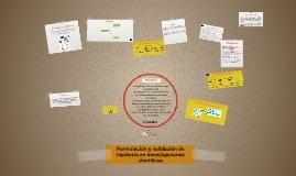 Unidad 4: Formulación y validación de hipótesis en un trabajo de investigación científica en el campo de las ciencias de la computación