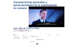 Características generales y particularidades de la subtitulación en Rumania