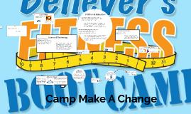 Camp Make A Change