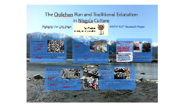 The Oolichan Run and Traditional Education