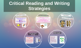 How to Critically Read and Write