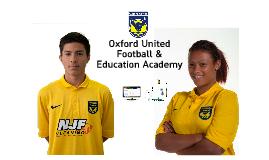 Oxford United Football & Education Academy