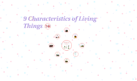 9 Characteristics of Living Things
