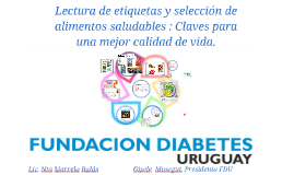 Copy of Alimentación saludable y diabetes.