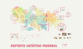 PROYECTO ARTÍSTO PERSONAL