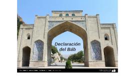 Declaración del Báb