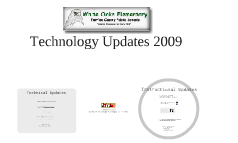 Copy of Technology Updates 2009