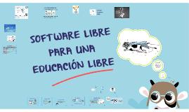 Software Libre para una Educación Libre