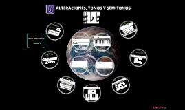 Alteraciones musicales - Tono y Semitono