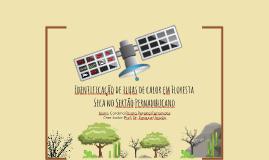 Identificação de Ilhas de Calor em Floresta Seca no Sertão de Pernambuco