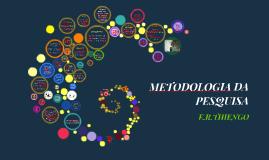 1-METODOLOGIA DA PESQUISA