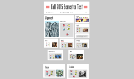 Fall 2015 Semester Test Review