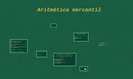 Copy of Aritmética mercantil