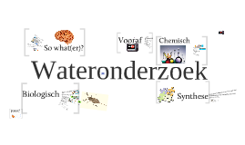 wateronderzoek SO