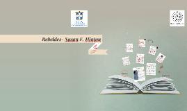 Copy of Rebeldes- Susan E. Hinton