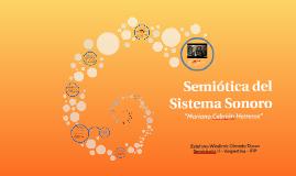 Semiótica del Sistema Sonoro