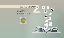 TITULO COMPLETO