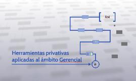 Herramientas privativas aplicadas al ámbito Gerencial