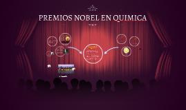 PREMIOS NOBEL EN QUIMICA